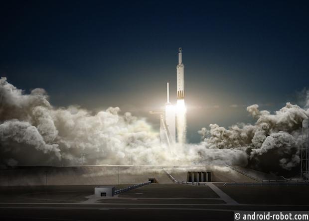 Илон Маск анонсировал запуск ракеты Falcon Heavy всамом начале 2018