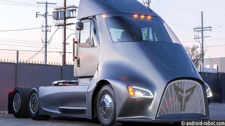 Thor Trucks подготовил конкурента электрогрузовику Tesla Semi