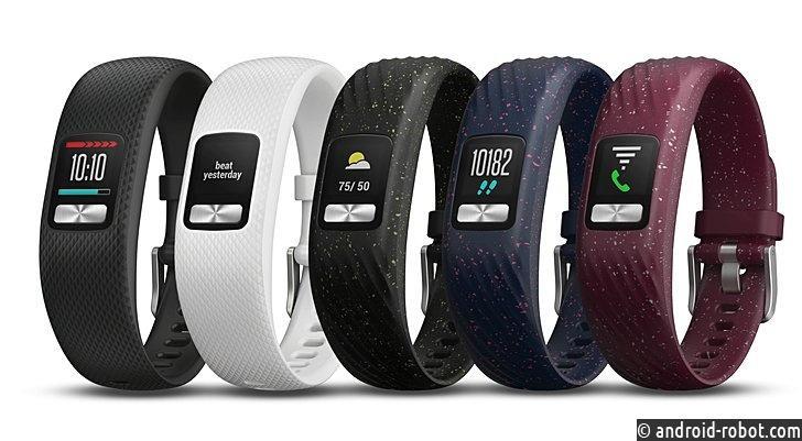 Фитнес-браслет Garmin Vivofit 4 проработает год без смены батареек