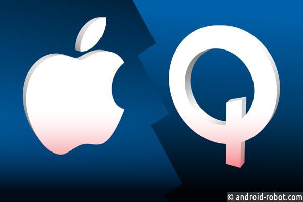 Qualcomm обвинила Apple в несоблюдении нескольких патентов