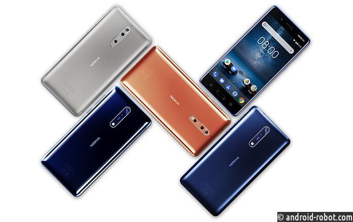 Nokia поставила 16 млн. телефонов втретьем квартале 2017 года