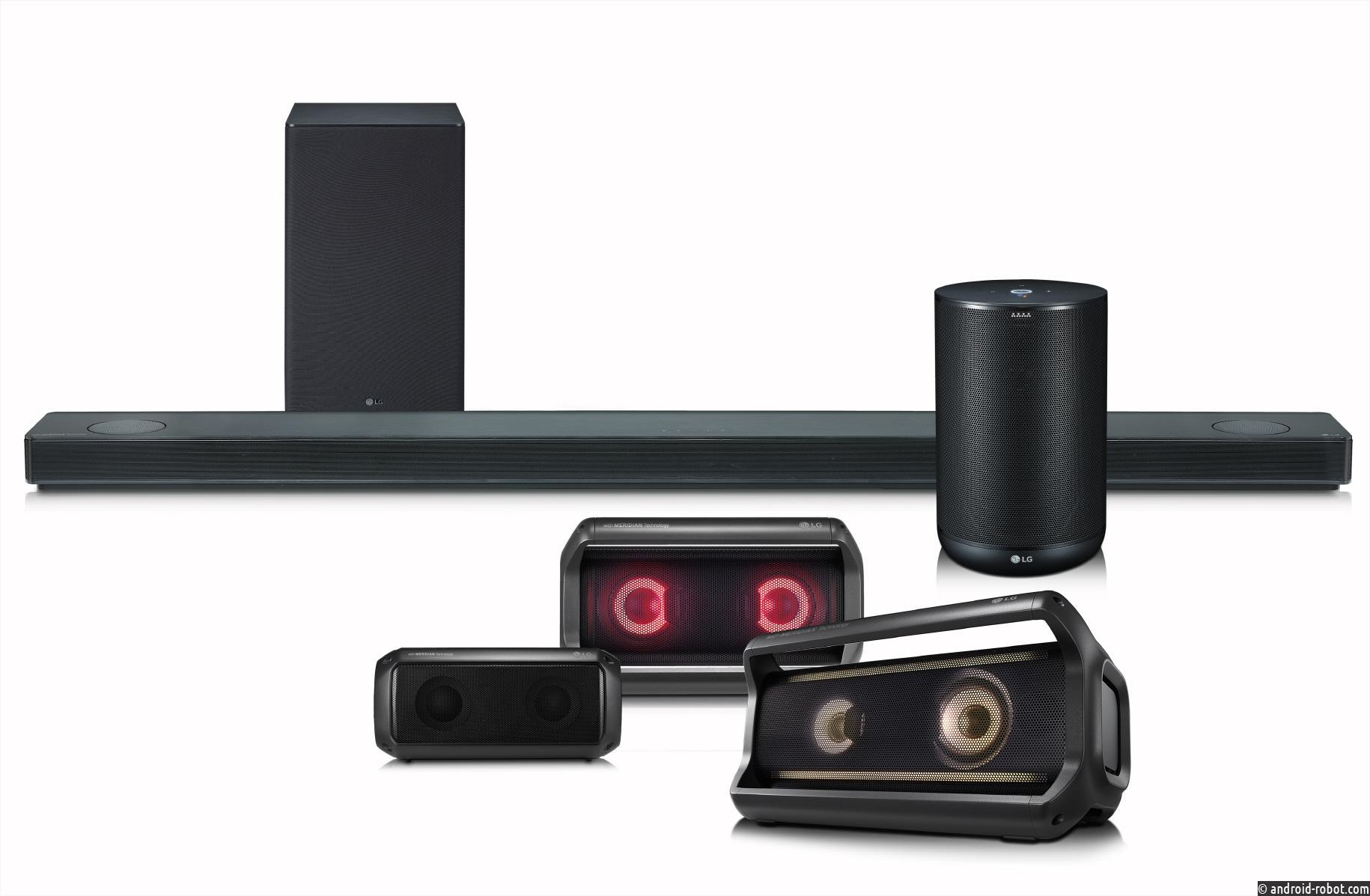 LG на выставке CES 2018 продемонстрирует более совершенные и «умные» премиальные аудиоустройства