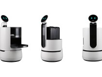 LG представляет еще трех роботов на выставке CES 2018