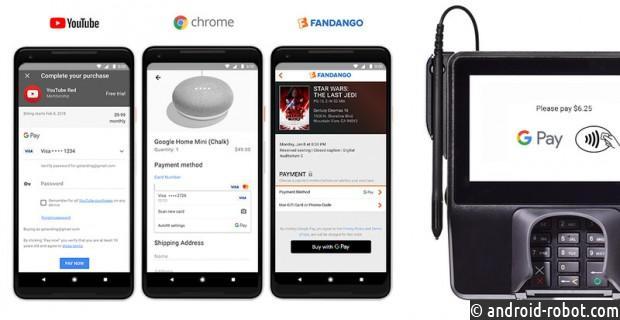 Андроид Pay иGoogle Wallet объединят водин платежный сервис