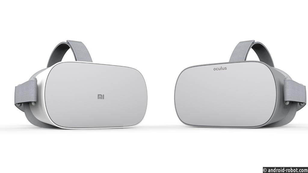 Xiaomi представила новый VR-шлем Mi VR Standalone в партнерстве с Oculus