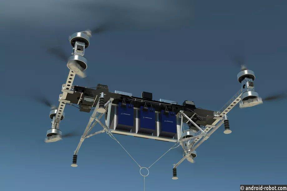 ВBoeing создали дрон сгрузоподъемностью 225кг