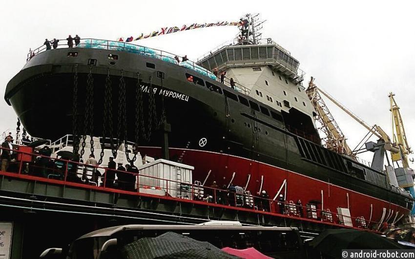 Ледокол «Илья Муромец» прибыл наСеверный флот