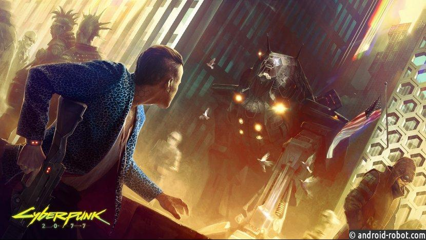 Игровой процесс Cyberpunk 2077 покажут вначале лета