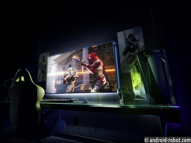 NVIDIA представила 65-дюймовый 4K-монитор совстроенным android TV