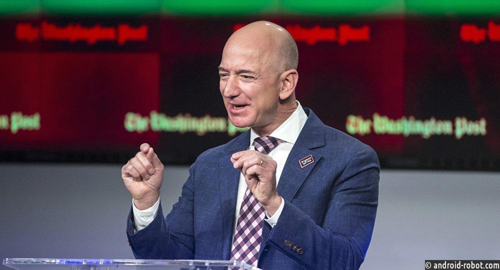 Основатель Amazon Джефф Безос стал самым богатым человеком вистории