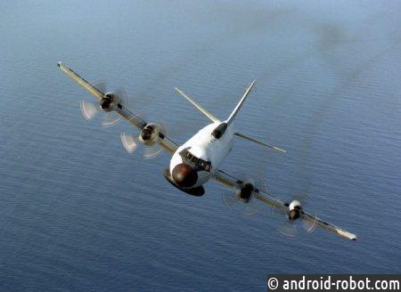 Самолет ВМС США провел многочасовую разведку около Крыма