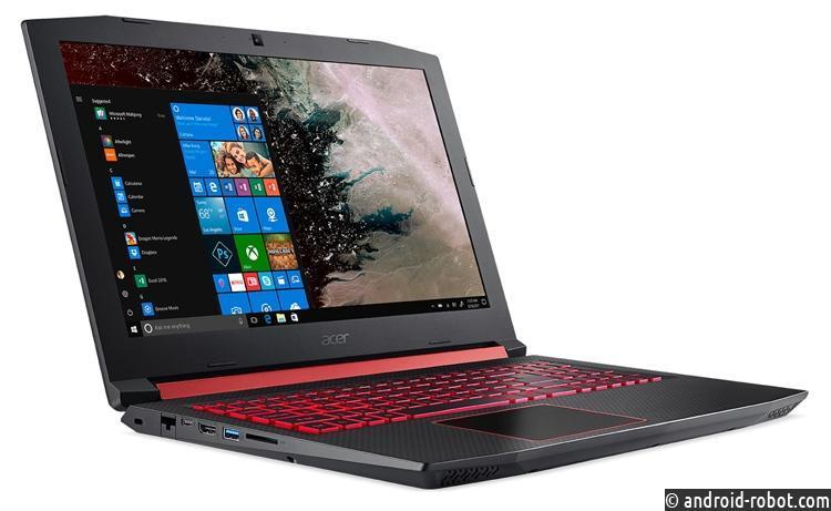 Acer представила игровой ноутбук Nitro 5 набазе Ryzen иRadeon