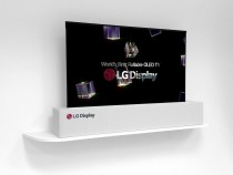LG Display показала новейшие модели дисплеев на выставке CES 2018