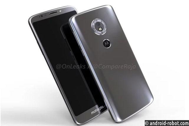 Смартфон Moto E5 Play продемонстрировал лицо
