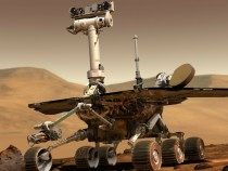 Марсоход Opportunity сделал первое «селфи»