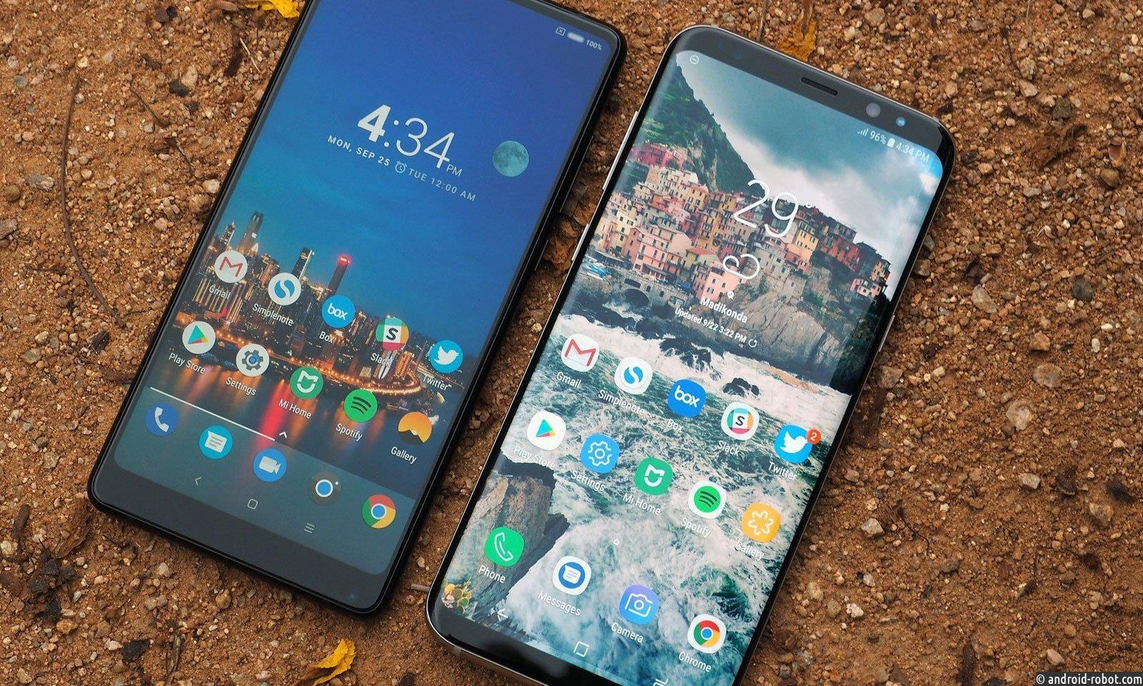 Xiaomi MiMix 2S иMi7 получены характеристики