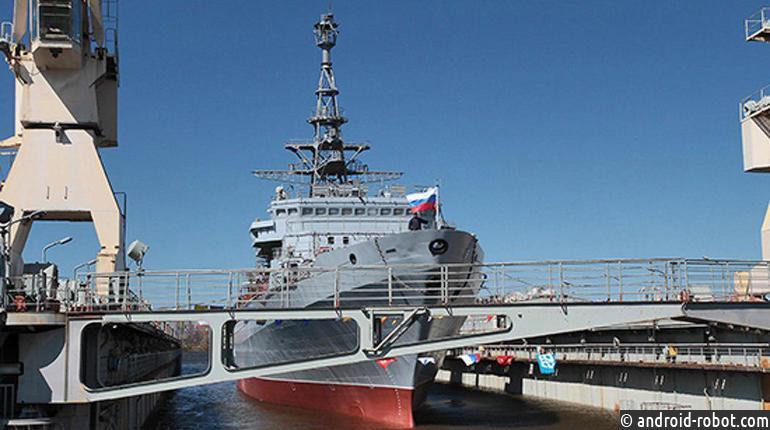 Судно связи «Иван Хурс» отправилось на тестирования вБалтийское море