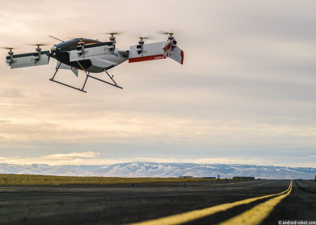 Airbus обнародовала видео первого тестирования аэротакси