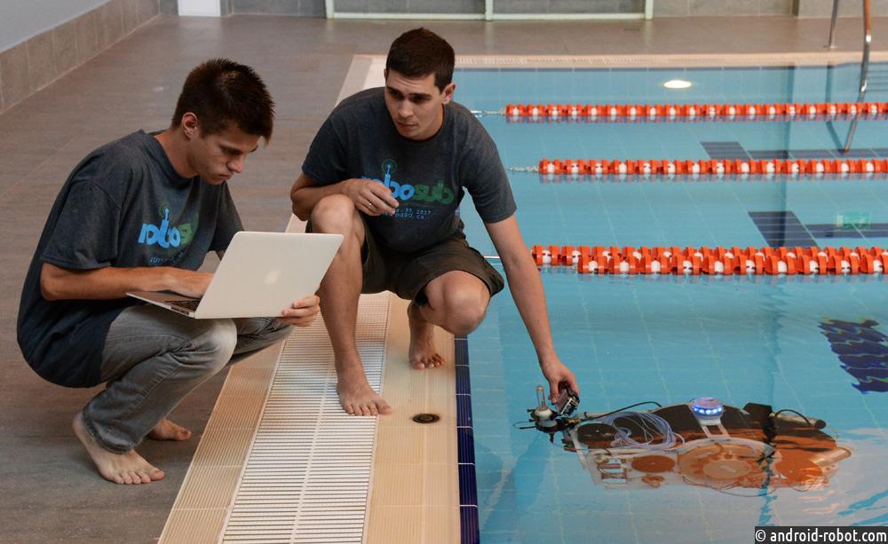 Робот с новым зрением и системой навигации чемпионату Азии готов