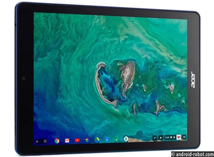 Acer иGoogle показали первый вмире планшет наChromeOS