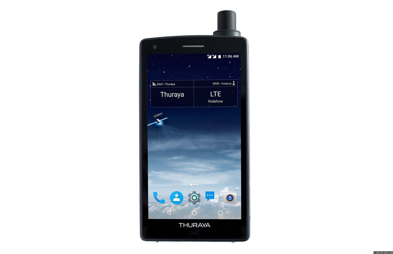 Анонс Thuraya X5-Touch: первый вмире спутниковый Android-смартфон