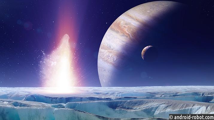 NASA поведало отёплых океанах наспутнике Юпитера