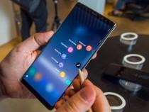 Samsung Galaxy Note 9 наофициальном изображении