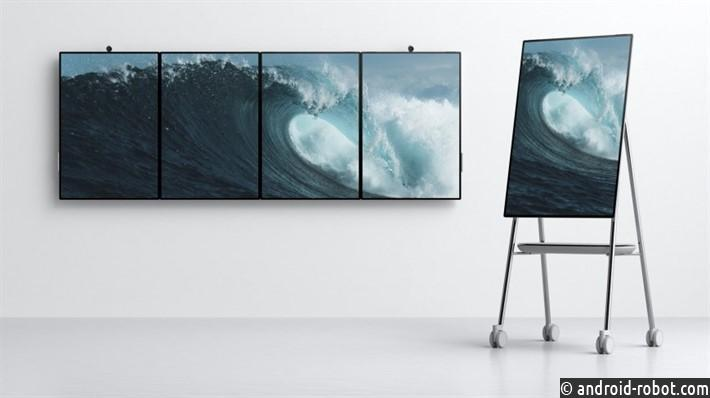 Компьютер Microsoft Surface Hub 2 получил дисплей 50 дюймов