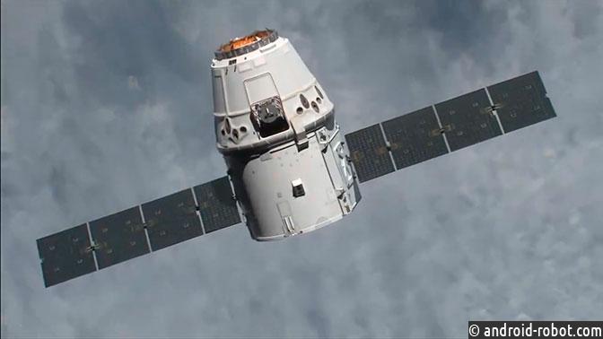 Корабль Dragon cгрузом сМКС благополучно приводнился вТихом океане