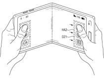 Samsung запатентовала прозрачный гибкий смартфон