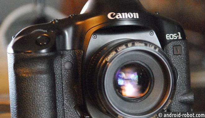 Завершились продажи пленочной камеры Canon EOS-1V