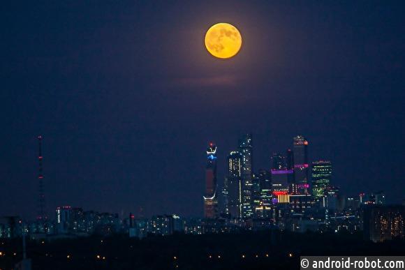 Лунное затмение всоцсетях жителей Якутии, России имира