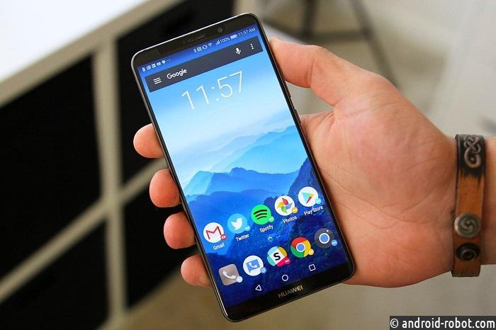 Huawei Mate 20 Pro засветился наживом фото