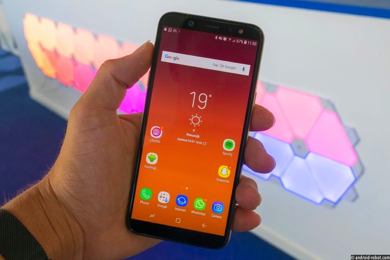 Новый Samsung Galaxy Aполучит дактилоскопический сканер под экраном