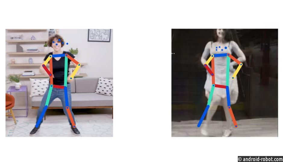 Move Mirror найдёт фотографии попозе человека