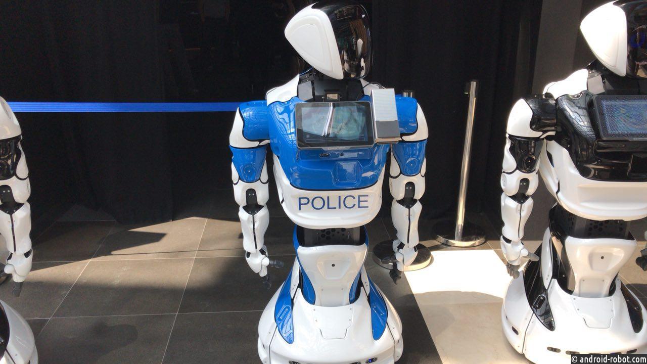 Робот стал сотрудником полиции
