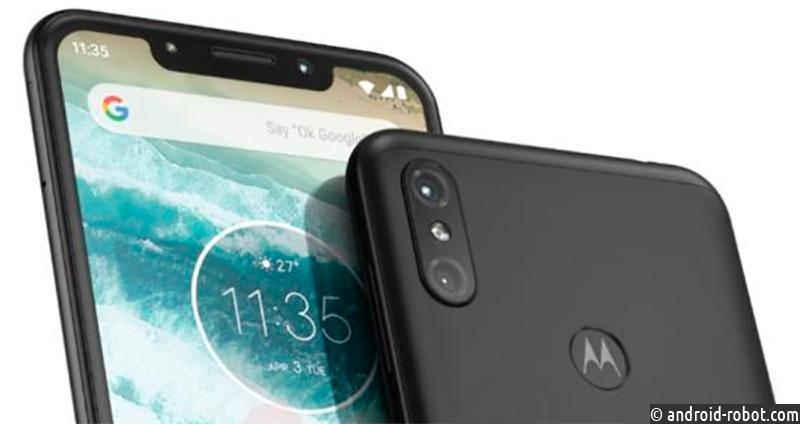 Стали известны характеристики и внешний облик телефона Motorola One