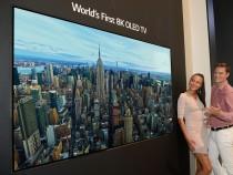 LG представляет первый в мире OLED-телевизор с разрешением 8к