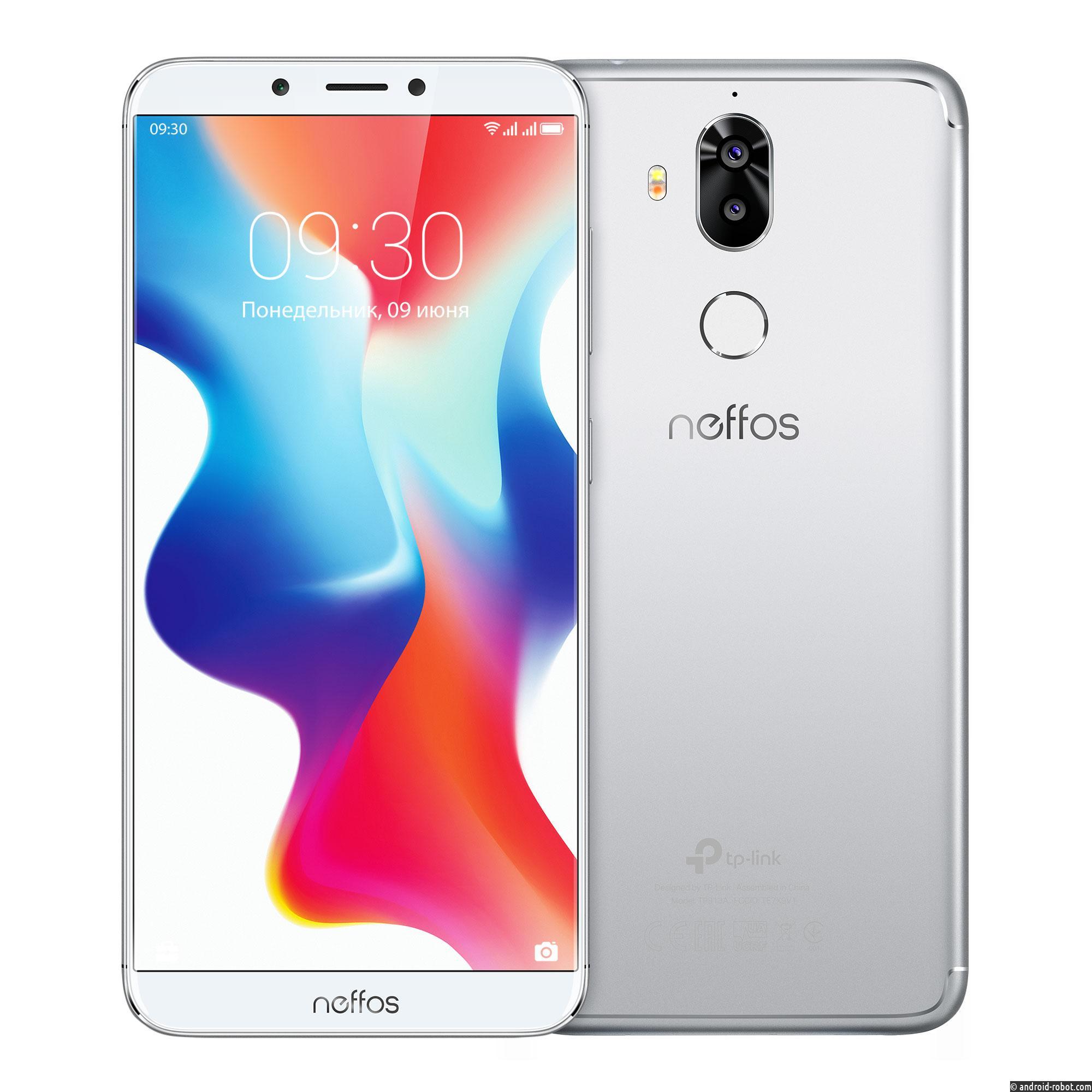 Новые модели смартфонов Neffos поступили в продажу в России