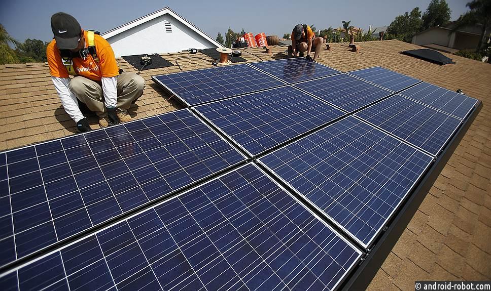 Калифорния хочет достичь 100-процентной свободной электроэнергии к 2045 году
