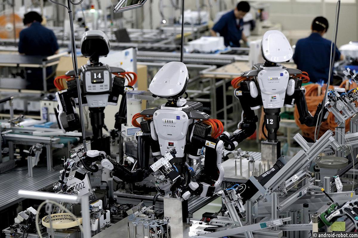 Роботы создатут вдвое больше рабочих мест, чем отберут