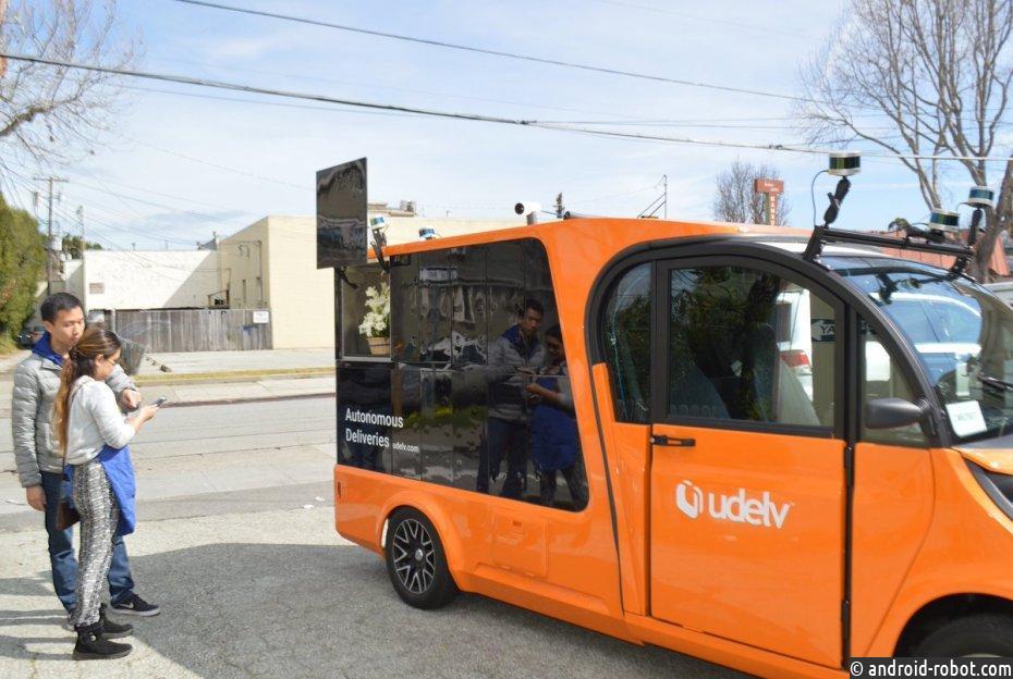 Беспилотные автомобили начнут доставлять продукты