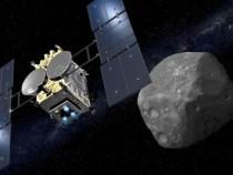 Появились первые вистории фото споверхности астероида