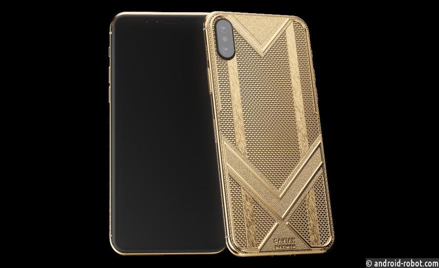 В России представили самый прочный, самый золотой и самый легкий iPhone XS Max
