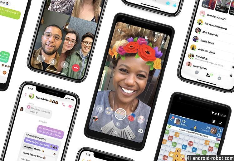 Facebook представила новый Messenger 4 супрощённым дизайном