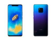 Huawei Mate 20: появились рендеры «убийцы» iPhone