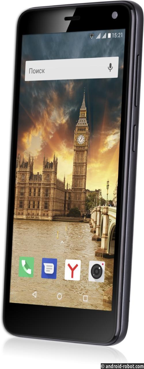 Fly объявляет о начале продаж нового бюджетного смартфона Fly Life Compact 4G