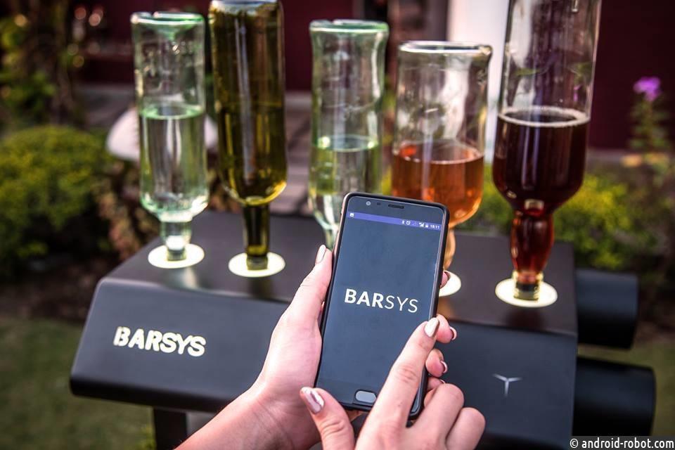 Робот-бармен Barsys готов сделать для вас коктейли
