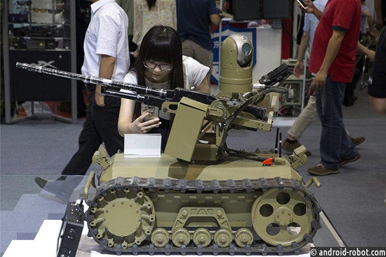 Китай готовит специалистов в области боевых роботов