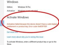 Недовольные юзеры: сбой активации Windows 10